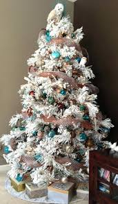 white christmas tree with colored lights white flocked christmas tree ideas with colored lights 9 ft emsg info