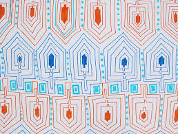hanukkah wrapping paper doodle wrapping paper craft for chanukah for the whole family