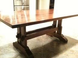 Mission Style Dining Room Furniture Best Trestle Table Legs Google Search Table Ideas Pinterest About