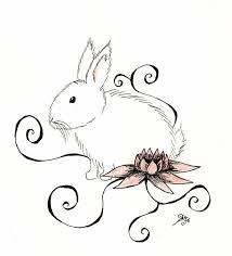 31 best bunny tattoo designs images on pinterest rabbit tattoos