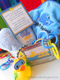 baby shower gift basket poem splish splash doodles