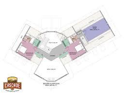 floor sq ft plans cascade log homes arrowhead 2nd plan 1024x791