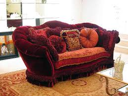 Red Floral Sofa by Furniture How To Decorate Your Endearing Living Room With