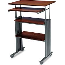 rolling stand up desk awesome go cart rolling stand up desk cb2 for standing attractive