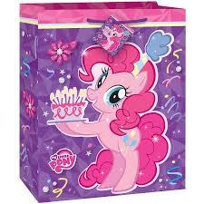 my pony christmas wrapping paper large my pony gift bag walmart