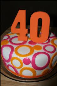 the touch of creativity toward the 40th birthday cake ideas