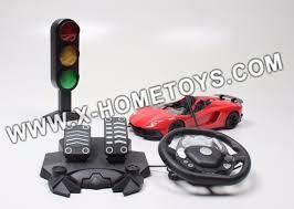 remote control car lights 1 14 simulation foot traffic light small steering wheel remote