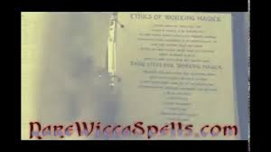 book of shadows full of real wicca witchcraft magick spells