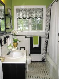 vintage black and white bathroom ideas rectangle white porcelain