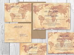 Travel Themed Wedding Travel Themed Wedding Invitations Cloveranddot Com