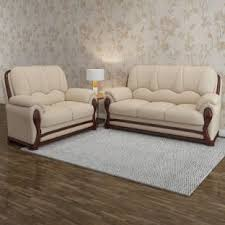 sofa set vintage ivoria fabric 3 2 mahogany sofa set price in india buy