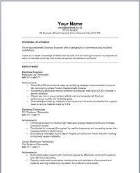 download certified electrical engineer sample resume