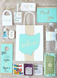 personalized wedding welcome bags 13 best out of town guest bags images on wedding