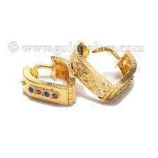 pics of gold earrings gold earrings 22 k