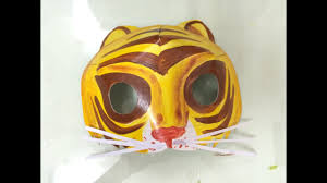 animals mask for kids how to make a tiger mask for kids how to