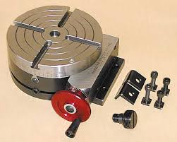making a rotary table sherline products
