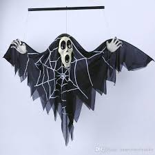 scary props 2018 50 70cm ghost day props scary white spirit hung