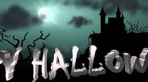 halloween greeting scary house on hill 3d hd animated youtube