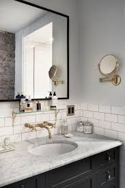 Bathroom Countertop Tile Ideas Inside Catbird Founder Rony Vardi U0027s Brooklyn Home Bathroom