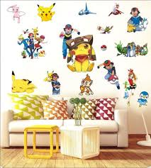 Home Decoration Wall Stickers Best 25 Pokemon Wall Stickers Ideas On Pinterest Pokemon Wall
