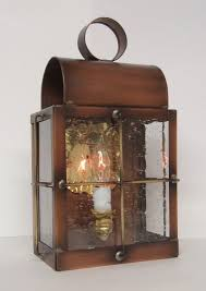 Copper Outdoor Lighting Hand Made Solid Copper Outdoor Lantern