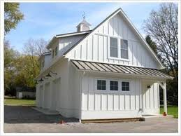 Metal Siding For Pole Barns White Dormers Lights Cupola Board And Batten Farmhouse