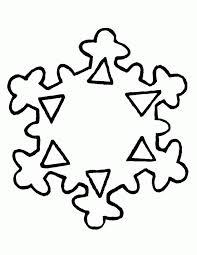 snowflake coloring sheets coloring home