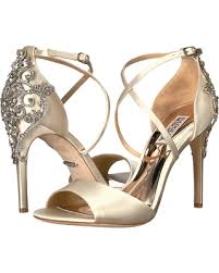 wedding shoes badgley mischka shopping sales on badgley mischka karmen ivory satin