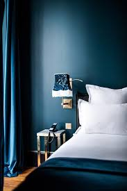 The  Best Dark Blue Bedrooms Ideas On Pinterest Navy Bedroom - Dark blue bedroom design