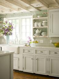 tiny cottage kitchens hampton wall diagonal cabinet in