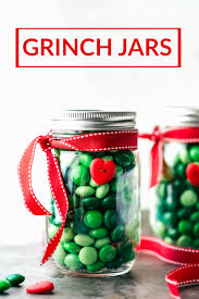 grinch jars recipe christmas mason jars grinch and snowman