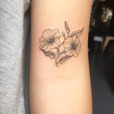 september birth flower tattoos popsugar australia