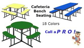 cafeteria benches barricks manufacturing