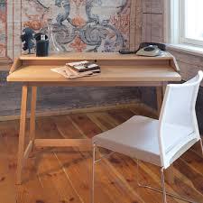 bureau avec plateau coulissant bureau en chêne massif bureau en chêne chene massif