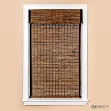closeout premium bamboo woven wood shades blindster com