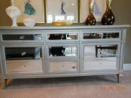 nightstand appealing mirrored chest with drawers for home