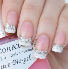 white glitter manicure pictures photos and images for facebook