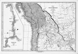 map of oregon country 1846 map of the oregon territory 1841