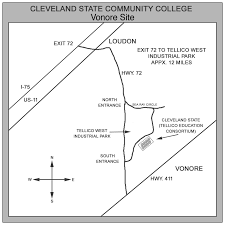 Cleveland State Campus Map by Campus Maps Cleveland State Community College Acalog Acms