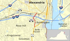 Alexandria Va Map Virginia State Route 241 Wikipedia