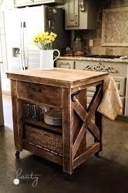 easy kitchen island kitchen island inspired by pottery barn rolling kitchen island white