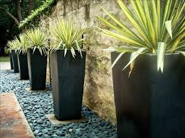 planters marvellous large black garden planters nursery pots
