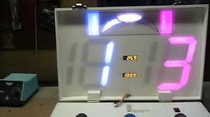 Hockey Scoreboard Light Fixture Arduino Ultimate Frisbee Scoreboard