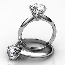 2 wedding rings engagement rings 3d obj