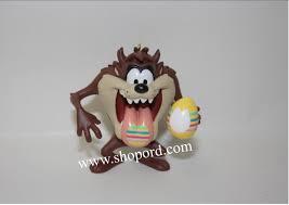 hallmark 2001 taz paint egg looney tunes ornament qeo8572