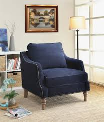 White Accent Chair Navy And White Accent Chair Alleyesonscreen Me