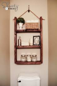 Best  Shelves Above Toilet Ideas On Pinterest Half Bathroom - Bathroom shelf designs