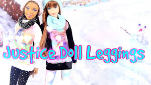 diy how to make justice inspired doll leggings fashion
