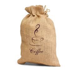Custom Burlap Art Print Love - drawstring jute bags eco drawstring burlap bags customized with