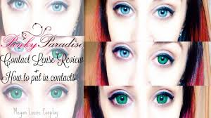 light blue cosplay contacts pinky paradise cosplay contacts review how to put in contacts